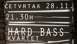 hard bass kvartet