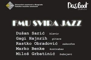 FMU svira jazz naslovna